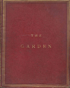 Front Cover of the The Garden