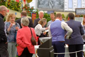 Drinks at the Burncoose Stand