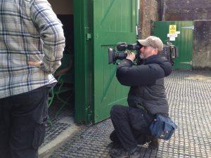 Salvage Hunters camera crew