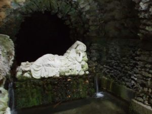 Horrors in the grotto!