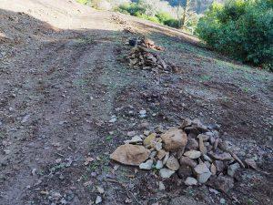 Stones raked off the new Isla Rose Plantation
