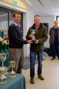Jaimie receives the RHS Loder challenge cup