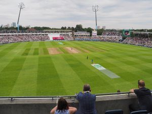 Warwick hospitality suite at Edgbaston