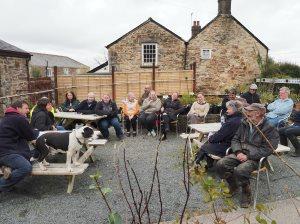 Burncoose staff meeting