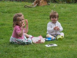Isla and Beatrice