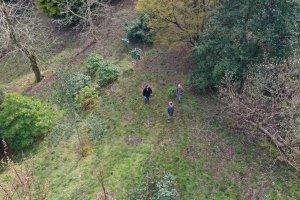 drone overflies