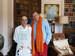 Barry Humphries meets chef Kevin Murray