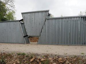 'brutal' sculpture